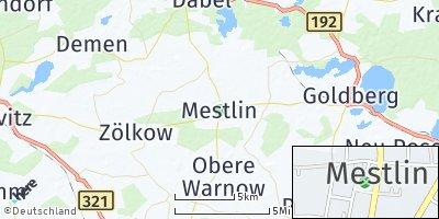 Google Map of Mestlin