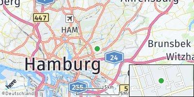 Google Map of Wandsbek
