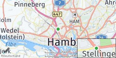 Google Map of Stellingen