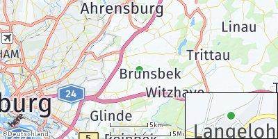Google Map of Brunsbek