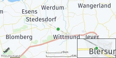 Google Map of Blersum