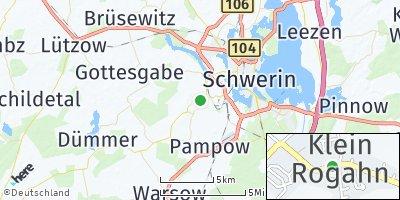 Google Map of Klein Rogahn