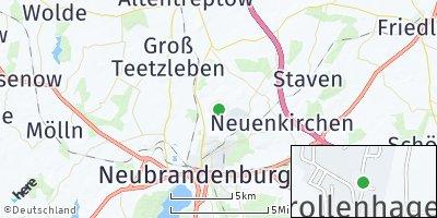 Google Map of Trollenhagen