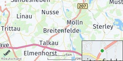 Google Map of Breitenfelde