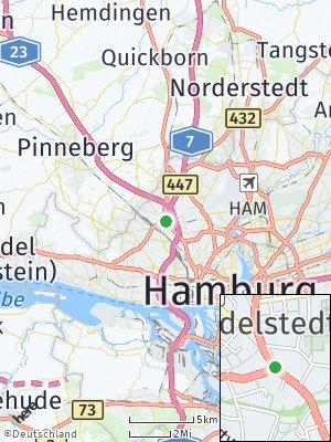 Here Map of Eidelstedt