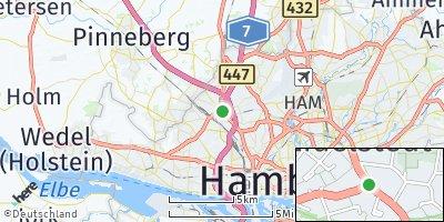 Google Map of Eidelstedt