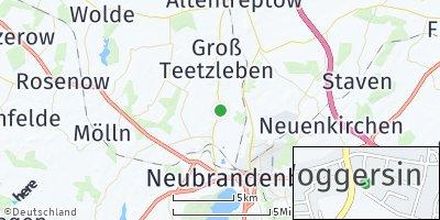 Google Map of Woggersin