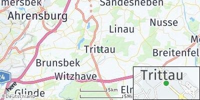 Google Map of Trittau