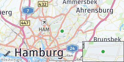 Google Map of Bramfeld
