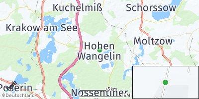 Google Map of Hohen Wangelin