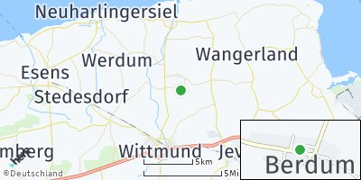 Google Map of Berdum