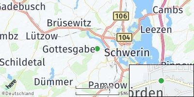 Google Map of Wittenförden