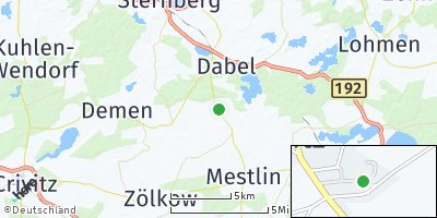 Google Map of Hohen Pritz