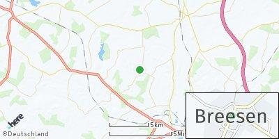 Google Map of Breesen
