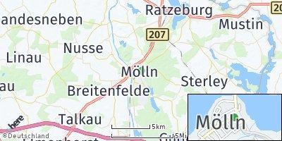 Google Map of Mölln