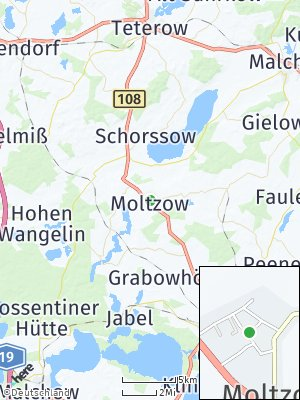 Here Map of Moltzow
