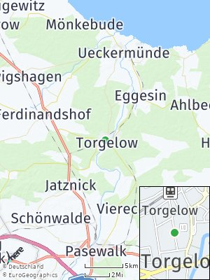 Here Map of Torgelow