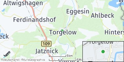 Google Map of Torgelow