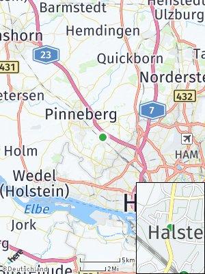 Here Map of Halstenbek