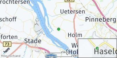 Google Map of Haseldorf