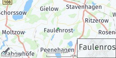 Google Map of Faulenrost