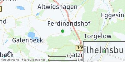 Google Map of Wilhelmsburg