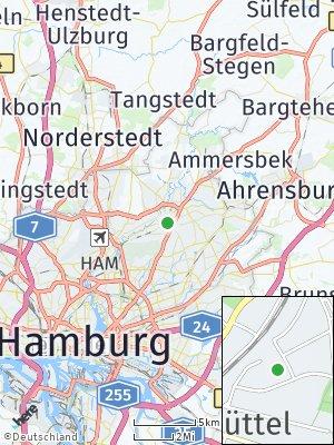 Here Map of Wellingsbüttel