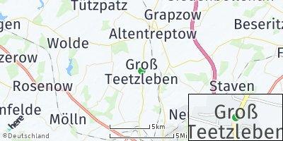 Google Map of Groß Teetzleben