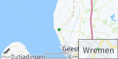 Google Map of Wremen