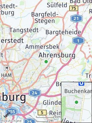 Here Map of Volksdorf