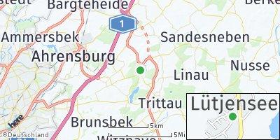 Google Map of Lütjensee