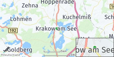 Google Map of Krakow am See