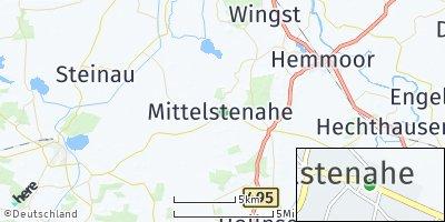 Google Map of Mittelstenahe