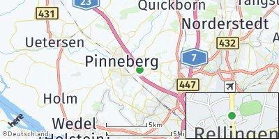 Google Map of Rellingen