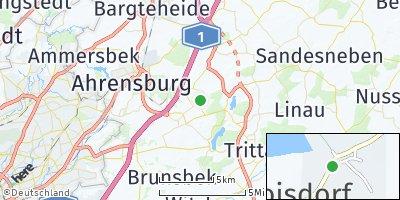 Google Map of Hoisdorf