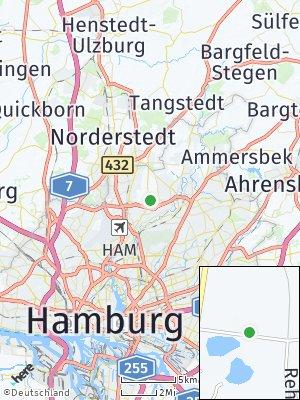 Here Map of Hummelsbüttel