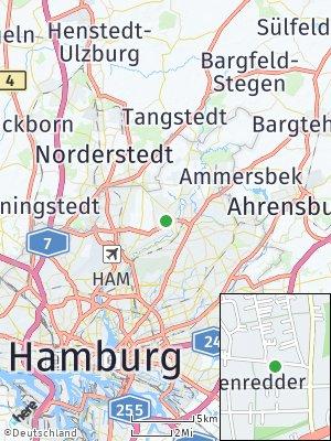 Here Map of Poppenbüttel