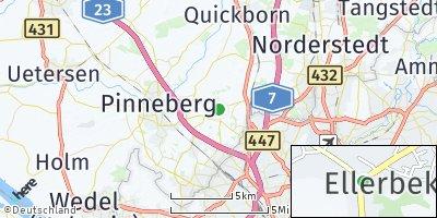 Google Map of Ellerbek