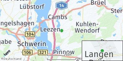 Google Map of Langen Brütz