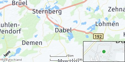 Google Map of Dabel