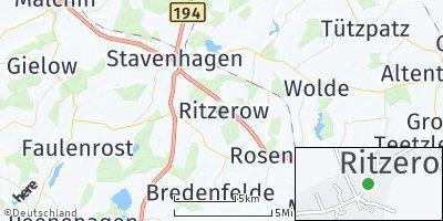 Google Map of Ritzerow