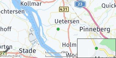 Google Map of Haselau