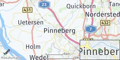 Google Map of Pinneberg