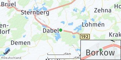 Google Map of Borkow