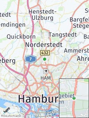 Here Map of Langenhorn