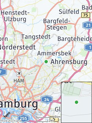 Here Map of Bergstedt