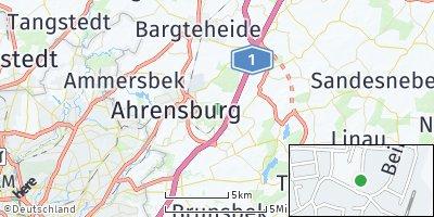 Google Map of Großhansdorf