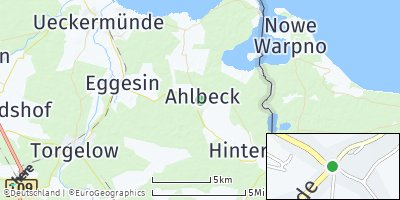 Google Map of Ahlbeck