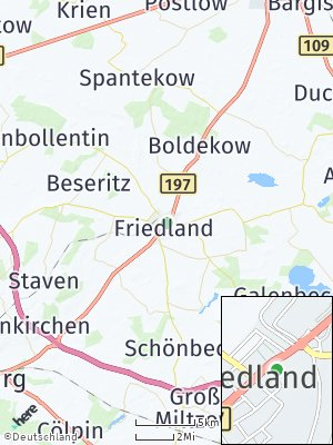 Here Map of Friedland