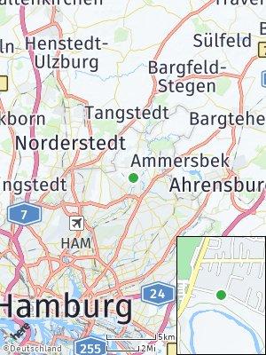 Here Map of Lemsahl-Mellingstedt